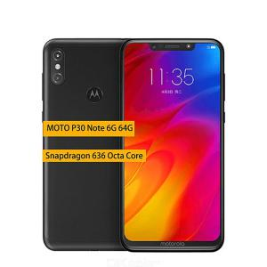 Motorola MOTO P30 Note Global Version 6.2 Inch Smartphone 16MP  5MP Cameras 6GB RAM 64GB ROM