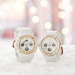 Casio G-Shock x Baby-G LOV-18A-7A G Presents Lover's Collection Couple Watch Pair Watches - White
