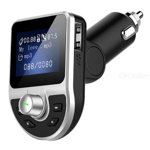 BT39 Portable Bluetooth Car Charger MP3 Player FM Transmitter