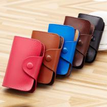 Leather-Organ-Small-Card-Holder-Multi-card-Position-Business-Card-Holder-Credit-Card-Wallet-For-Men-And-Women