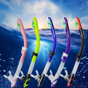 Full Dry Silicone Mouthpiece Underwater Swimming  Scuba Tube Air Breathing Equipment  For  Travel  Diving