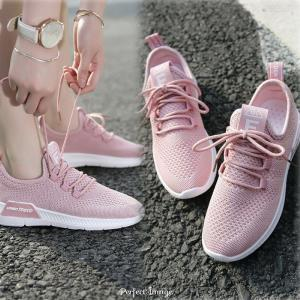 Womens Casual Walking Shoes Knit Breathable Lightweight Slip On Tennis Running Sport Sneakers