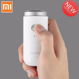 Presale Xiaomi So White ED1 Electric Shaver Waterproof Electronic Razor For Wet Dry Beard Shaving