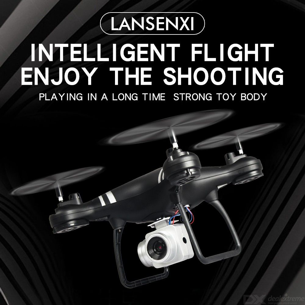 LF608 RC Drone Wi-Fi 2.4GHz Quadcopter With 0.3MP 2.0MP 5.0MP Camera