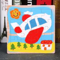 Wooden-Cartoon-Jigsaw-Toys-Transportation-Series-Puzzles-Training-Tool-For-Children-(8PCS)