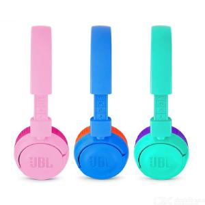 JBL JR300BT Kids Bluetooth Wireless Headphones, Lightweight HD Stereo Headsets with 12 Hours Playing Time