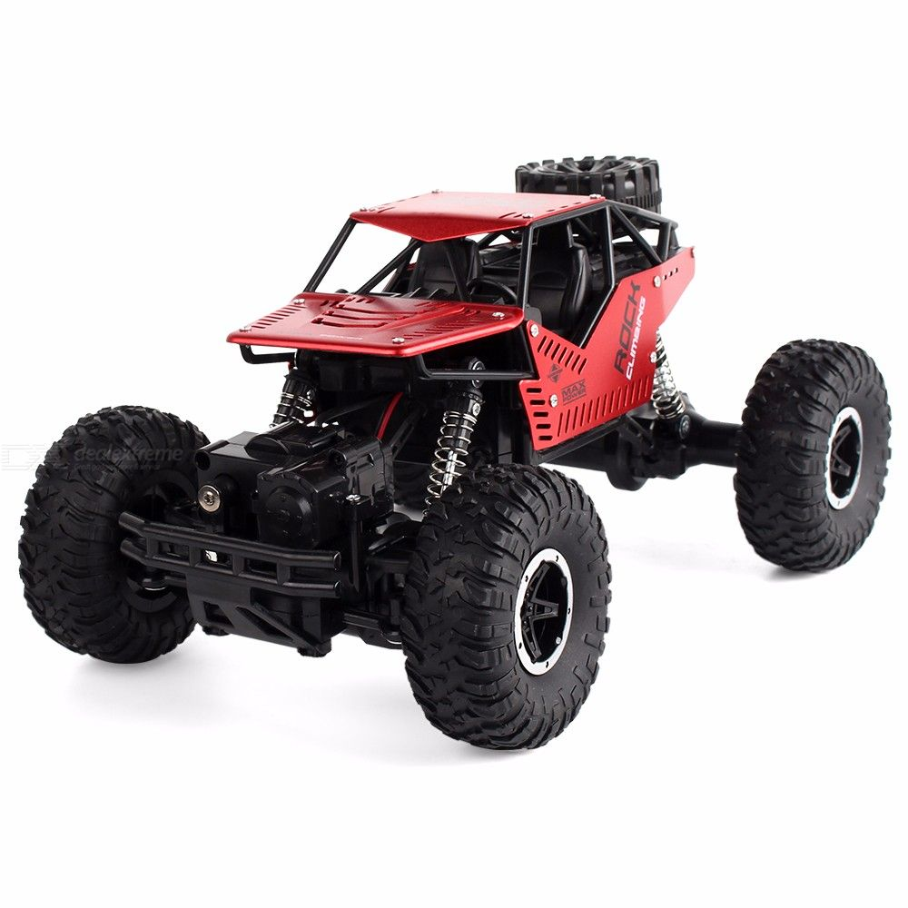 2.4GHz Off-Road Remote Control Truck Alloy Rock Crawler Car for Kids Toys
