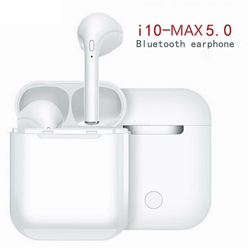 I10 Max TWS Bluetooth 5.0 Earbuds True Wireless Bluetooth Earphones W400mAh Charging Case