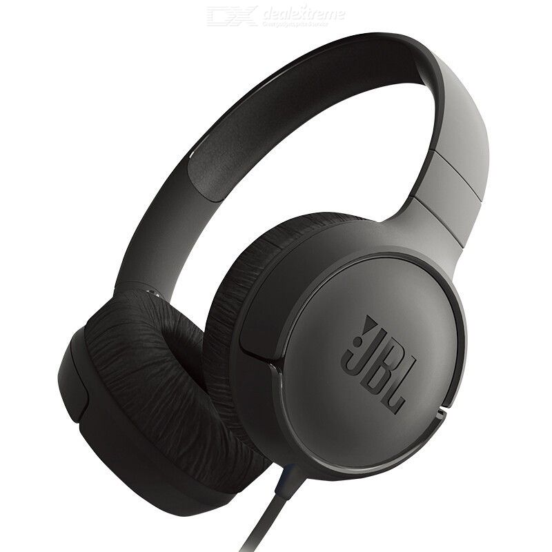 JBL T500 Wired Headphones, HD Stereo Noise Cancellation Headsets