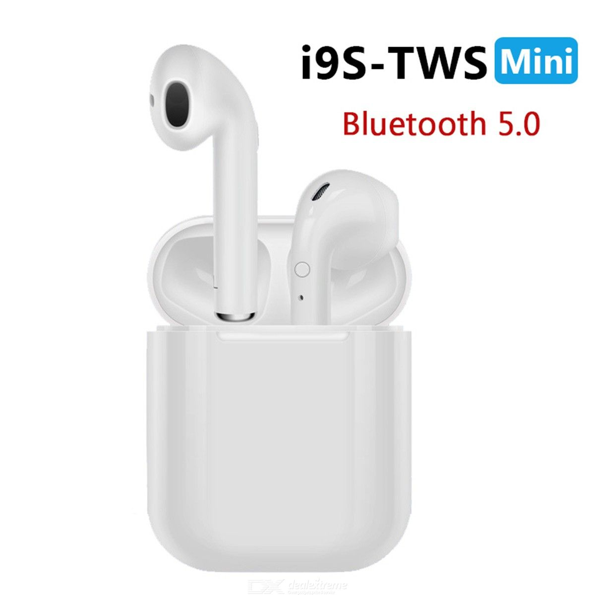 TWS Bluetooth V5.0EDR Earbuds True Wireless Bluetooth Earphones WCharging Case