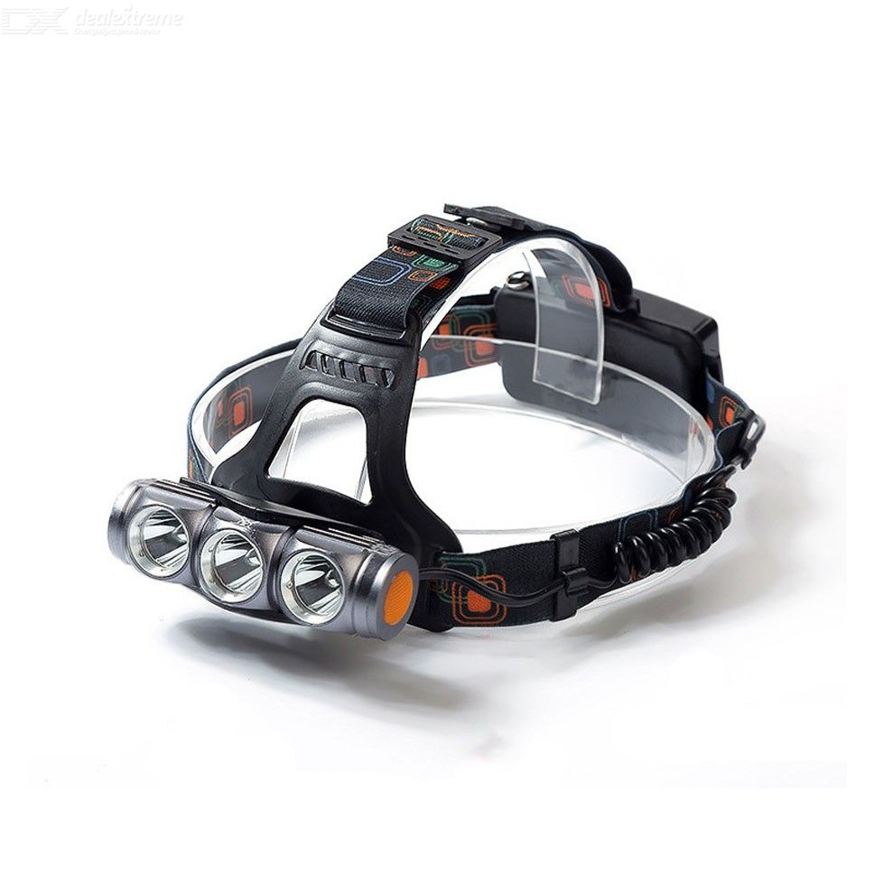 Multifunctional USB Charging Headlamp With High-brightness Zoom T6 Bead Strong Light Waterproof LED Outdoor Lamp