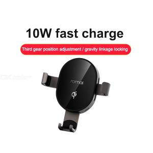 Xiaomi 70mai Qi Wireless Charger Universal Car Bracket Cell Phone Holder Intelligent Sensor For Car Auto