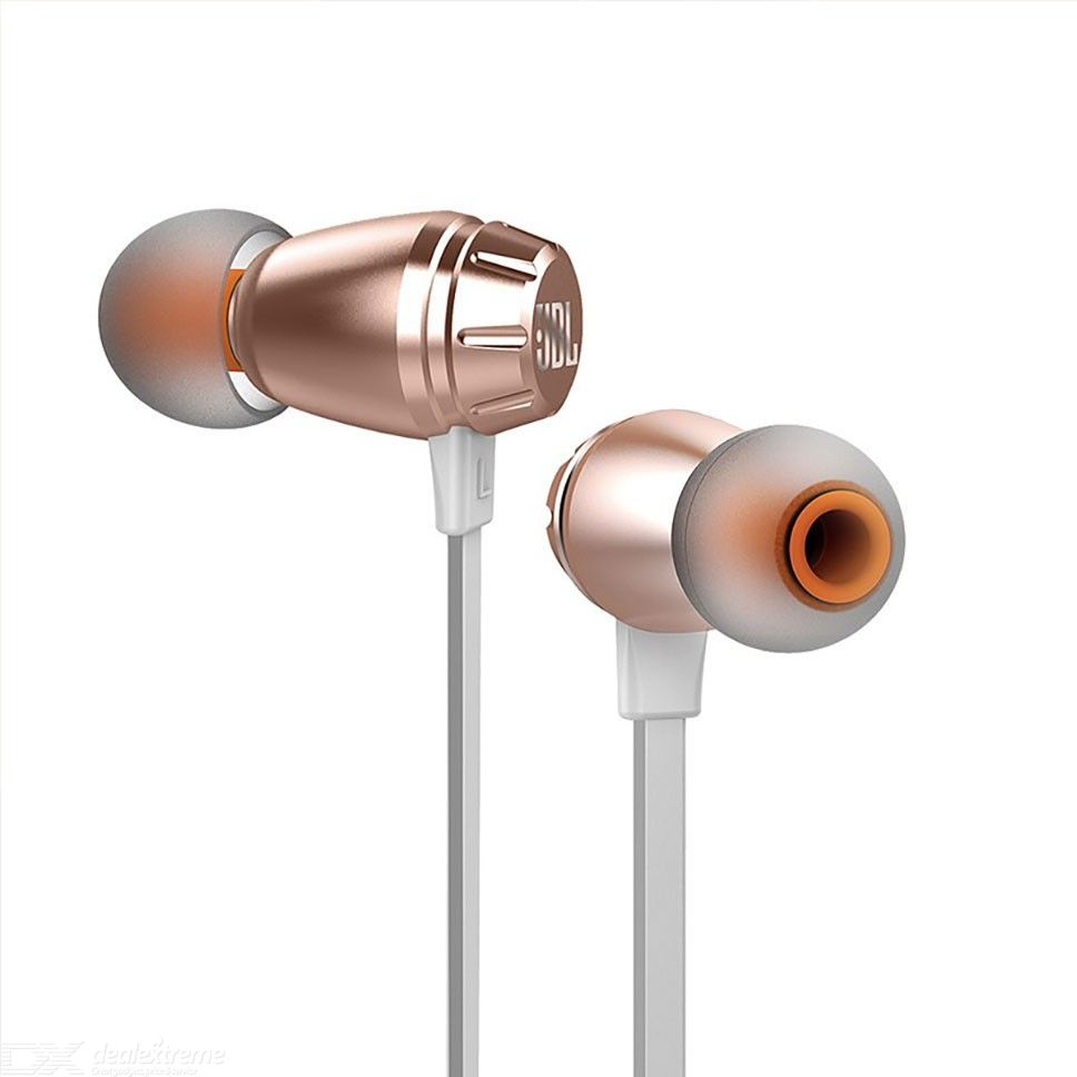 JBL T380A in-Ear Wired Headphones Pure Bass Noise Cancellation Earphones