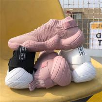 Breathable-Flying-Woven-Sneaker-Casual-Round-Head-Mesh-Walking-Shoes-For-Women