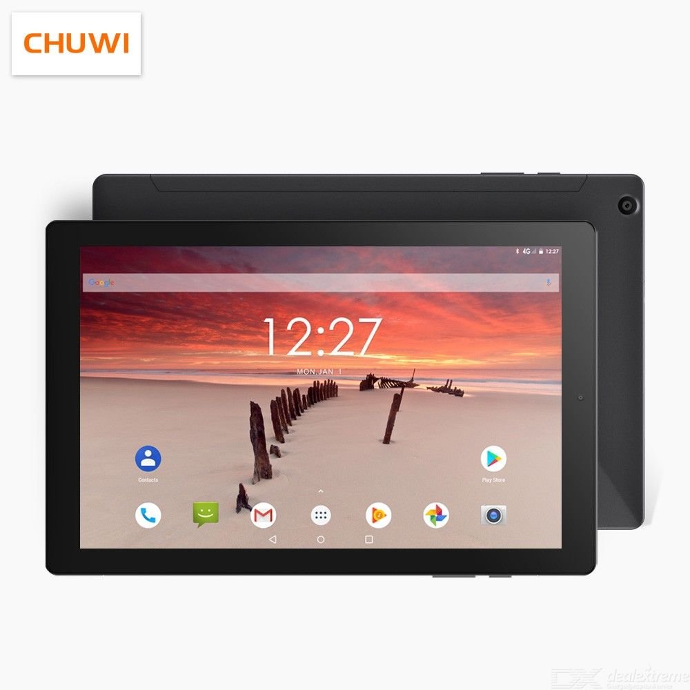 CHUWI 2019 Hipad LTE MTK6797 X27 Deca Core Android 8.0 3GB RAM 32GB ROM 10.1 Inch 19201200 4G Phone Call Tablets