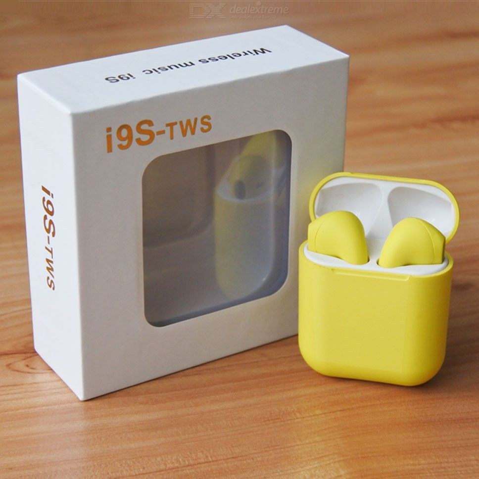 I9s TWS Bluetooth 5.0 Earbuds Button Control Bluetooth Earphones
