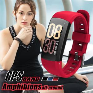 S906 GPS Positioning Bracelet Waterproof Smart Sports Wristband Heart Rate Monitoring Watch For Adults