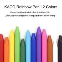 Xiaomi-KACO-Gel-Pen-Colorful-Roller-Sign-BallPoint-Ball-Signing-Pens-Black-White-12pcsPack-Smooth-Ink-For-Student-School-Office