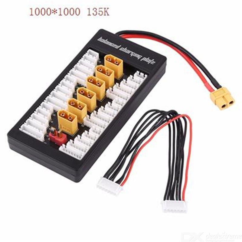 XT60 Plug Parallel Battery Charging Board Para Board for IMAX B6 LiPo Charger