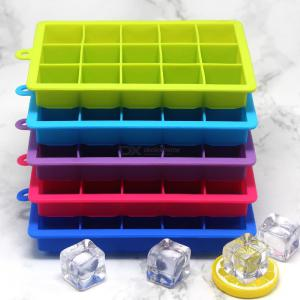 15 Grid Creative Silicone Ice Cream Tools With Cover Square Ice Cube Tray Molds DIY Ice Block Maker Mould