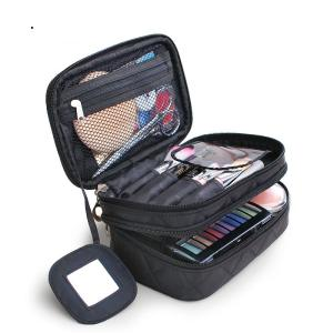 Creative Double Waterproof  Nylon Makeup Bag  Multi-function Storage Bag  For Travel