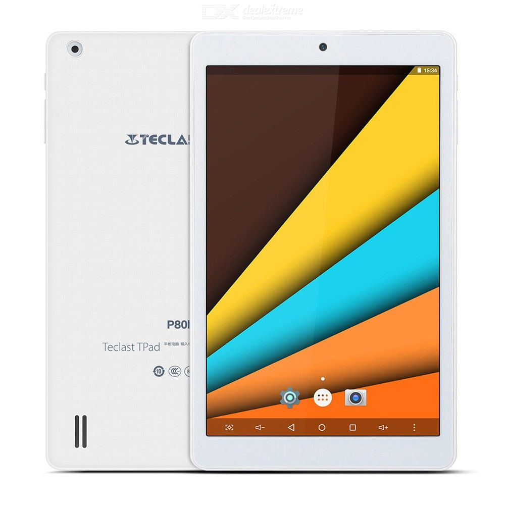Teclast P80H PC Tablets 8 Inch Quad Core Android 7.0 64bit MTK8163 IPS 1280x800 Dual WiFi BT 4.0 2.4G  5G HDMI