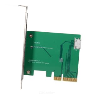 Oculink SFF-8612 SFF-8611 to PCI-E 3.0 x4 Host Adapter for PCIe SSD