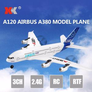 WLtoys XK A120 Airbus A380 Model Plane 3CH 2.4G Remote Control Airplane Fixed-wing RTF Toy