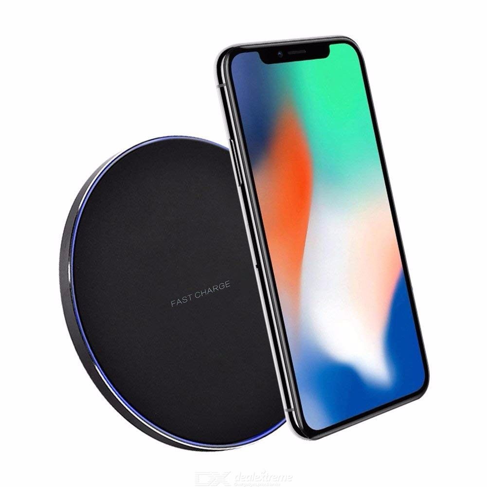 GTcoupe 10W Qi Wireless Charger Wireless Charging Pad for iPhone 8 X XR XS Max Samsung S9 S8 Note 8 9