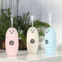 Cartoon-Mist-Humidifier-Cute-Seal-Shape-Essential-Oil-Disffuser-With-Auto-Shutdown-Timer-And-Nightlight