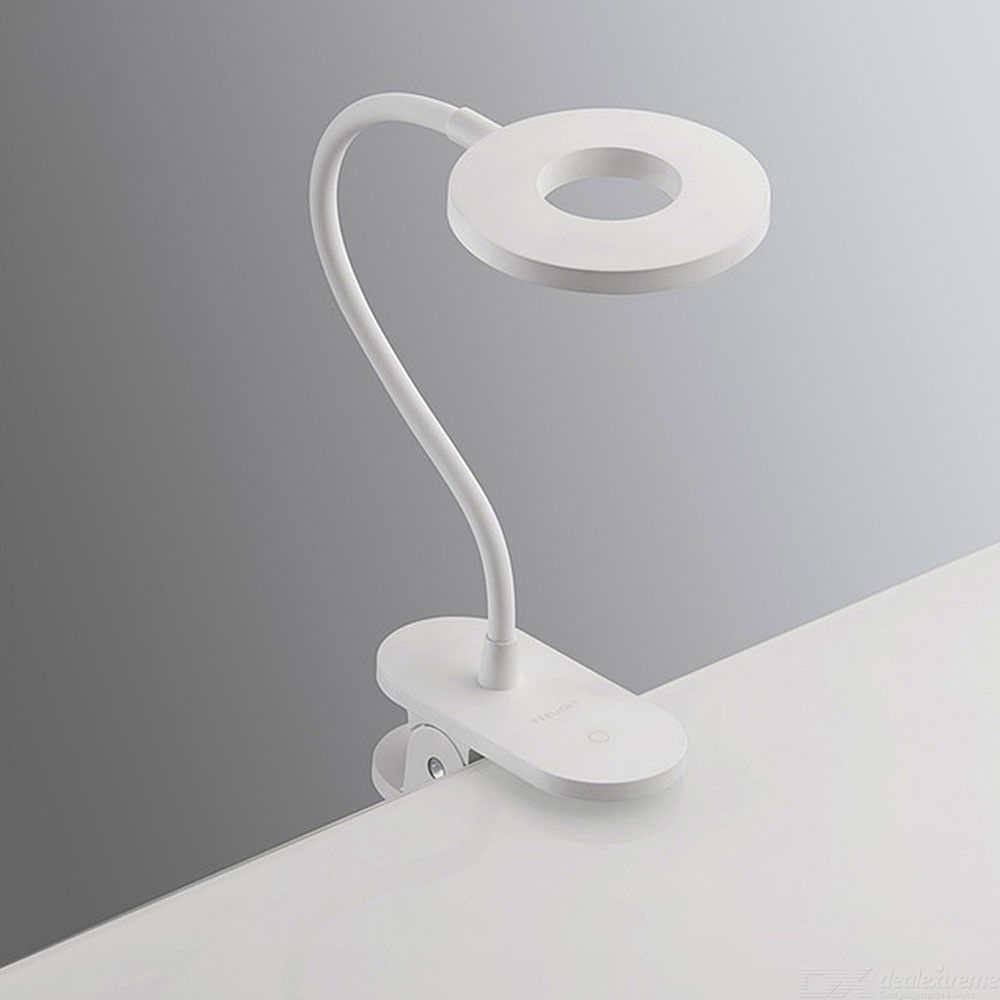 Xiaomi Mijia Yeelight Charging Clamp Table Lamp  With  LED 5W Three-shift Dimming Adjustable Brightness Desk Lamp