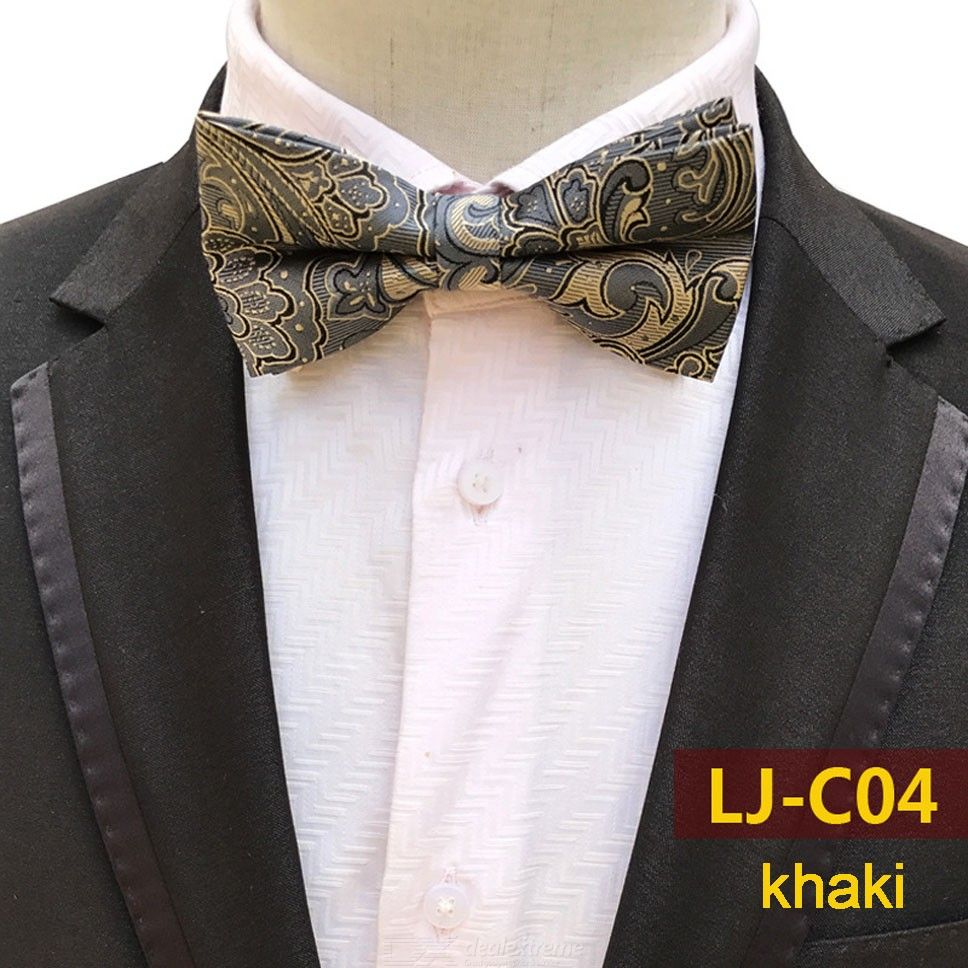 Male Marriage Butterfly Wedding Bow Ties Fashion Mens Printed Bow Ties For Banquet Dinner Party