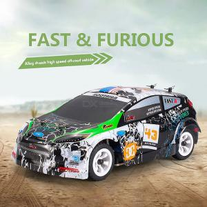 WL K989  RC Car 1:28  Four-wheel Drive Off-Road Vehicle 2.4G Remote Control Alloy Chassis High-speed Toy Car