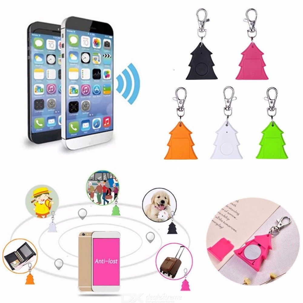 Key Finder Smart Christmas Tree Shape Bluetooth Locator For Key Smartphone