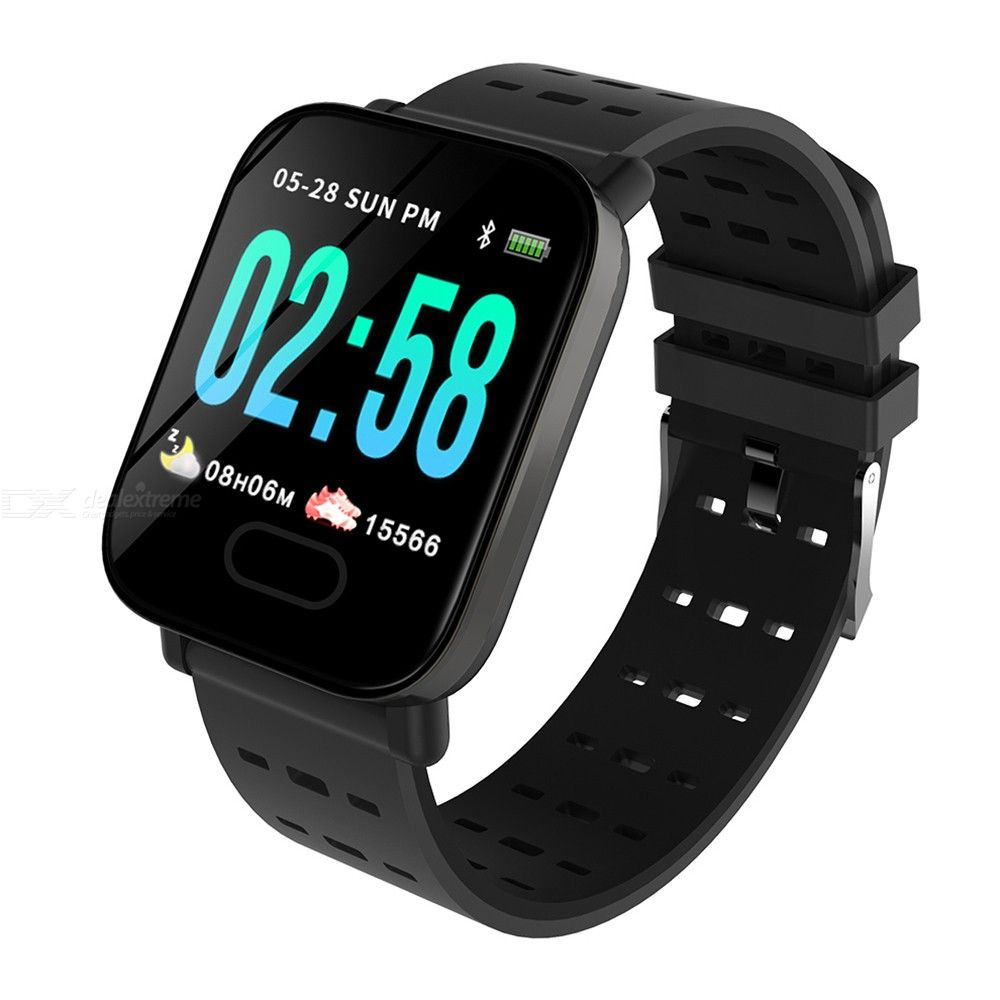 SANDA A6 Color Screen Bluetooth Smartwatch Sleep Heart Rate Blood Pressure Monitoring Sports Watch