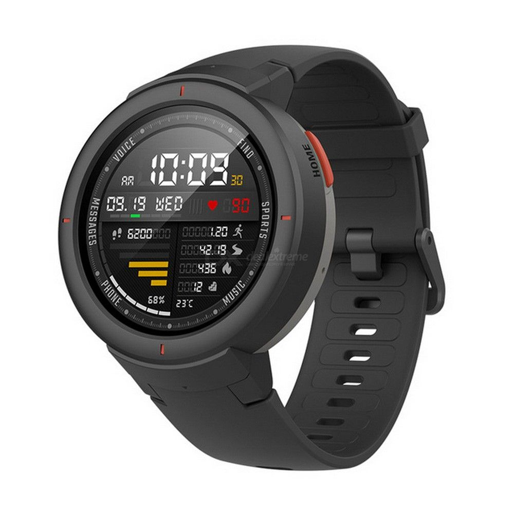 Xiaomi Huami Amazfit Verge 1.3 Inch Smart Watch Make Receive Phone Call Message Reminder 11 Sports Modes English Version