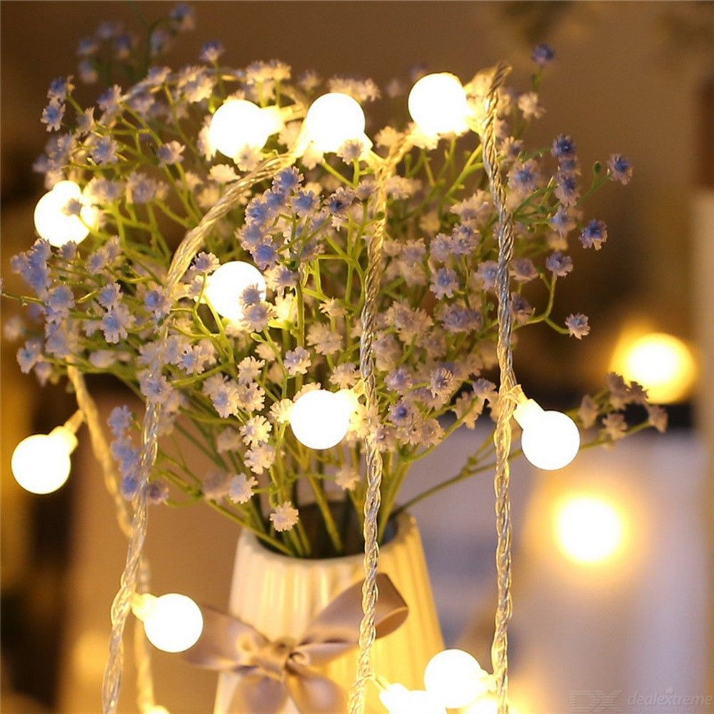 LED Light String Waterproof Star Light Rope For Indoor Outdoor Decoration