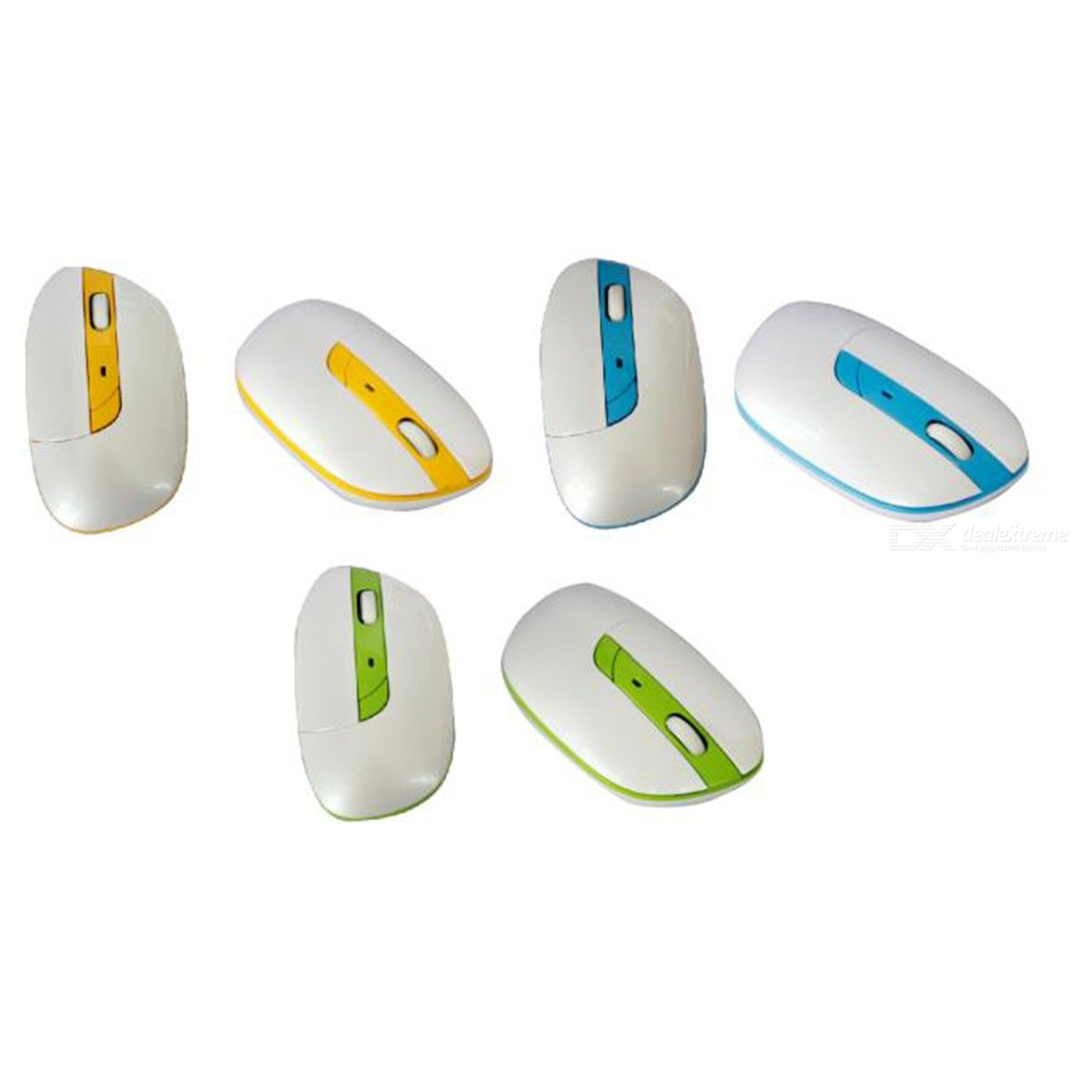 Kids Mini Wireless Mouse, Irregular Bluetooth Mice For PC Laptop