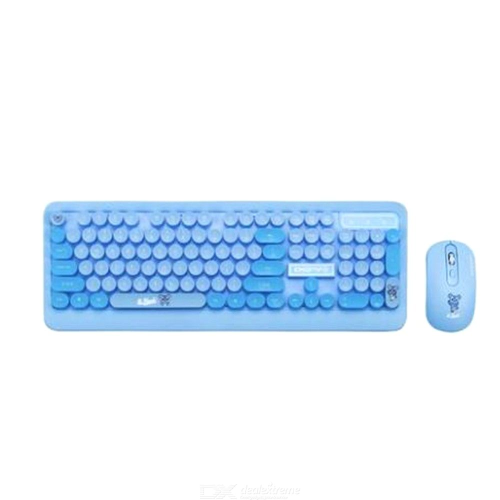 2 4g Bluetooth Wireless Keyboard And Mouse Combopersonalized Keyboard Mouse Set For Laptop Pc Free Shipping Dealextreme