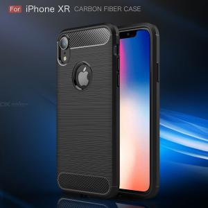 ASLING Carbon Fiber TPU Phone Case For iPhone XR Protection