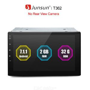 Junsun T362 7 inch 2 Din Android Car GPS Navigation with Bluetooth FM Transmitter Radio MP3 Player