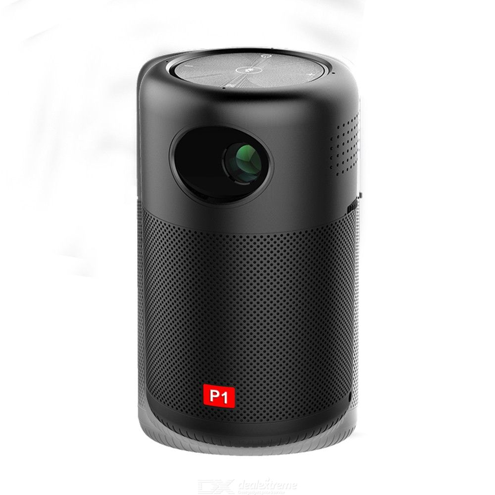 P1 Mini Projector Portable Wi-Fi Projection Device 150 ANSI LM 50 -200 Inch  Picture For Home And Office