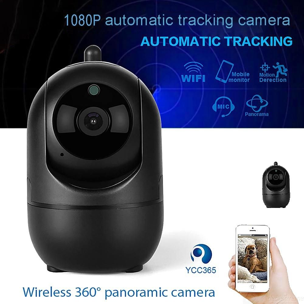 IP Camera 1080P Full HD Home Security Camera With Motion Detection Motion Tracking And Dual Way Talk
