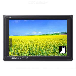 FW279 7 Inch 2200nit Camera Field Monitor Daylight-Viewable 4K HDMI Input Output 1920X1200 IPS Screen