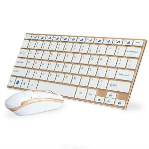 2.4G Bluetooth Wireless Keyboard And Mouse ComboUltral-thin Gaming Keyboard Mouse Set For Laptop, PC