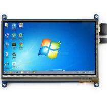 Waveshare-Raspberry-Pi-1024*600-7inch-HDMI-Capacitive-Touch-Screen