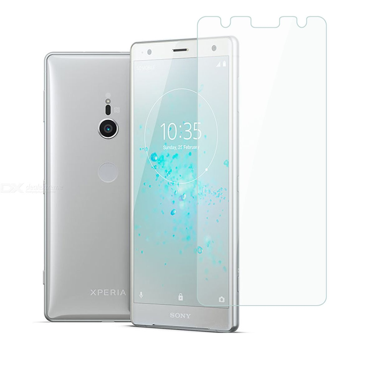 Dayspirit Tempered Glass Screen Protector for Sony Xperia XZ2