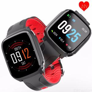 GTcoupe QW12 Smart Band 1.3 inch Color Screen Smart Bracelet  Real-time Heart  Rate Monitor Sport  Watch