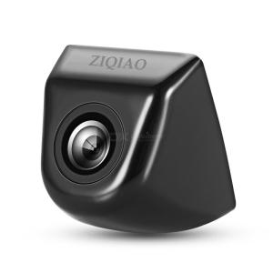 ZIQIAO ZHS-006H Universal 170 Degree Night Vision Waterproof Car Rear View Backup Camera - Black