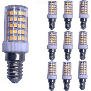 ZHAOYAO E14 7W AC 220-240V SMD3528-86LEDs Ceramic LED Corn Bulb Warm White Light (10PCS)